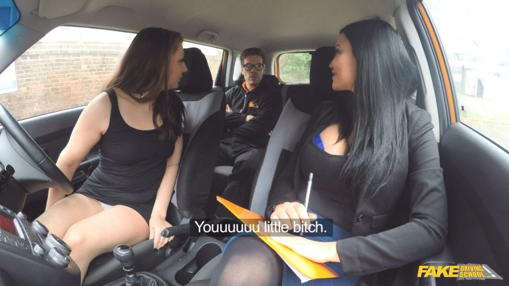 Riding Dick While Driving